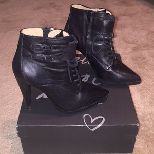 Banana Republic leather ankle boots